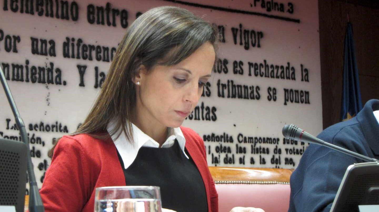 Beatriz Corredor en 2011, en su etapa como secretaria de Estado de vivienda.