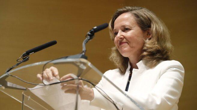 La ministra de Economía Nadia Calviño.