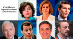 El estado de la batalla del PP: los apoyos de cada candidato
