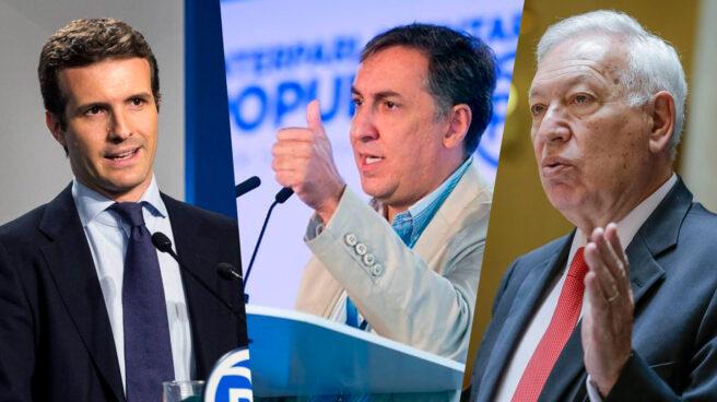 Pablo Casado, José Ramón García-Hernández y J.M. García Margallo