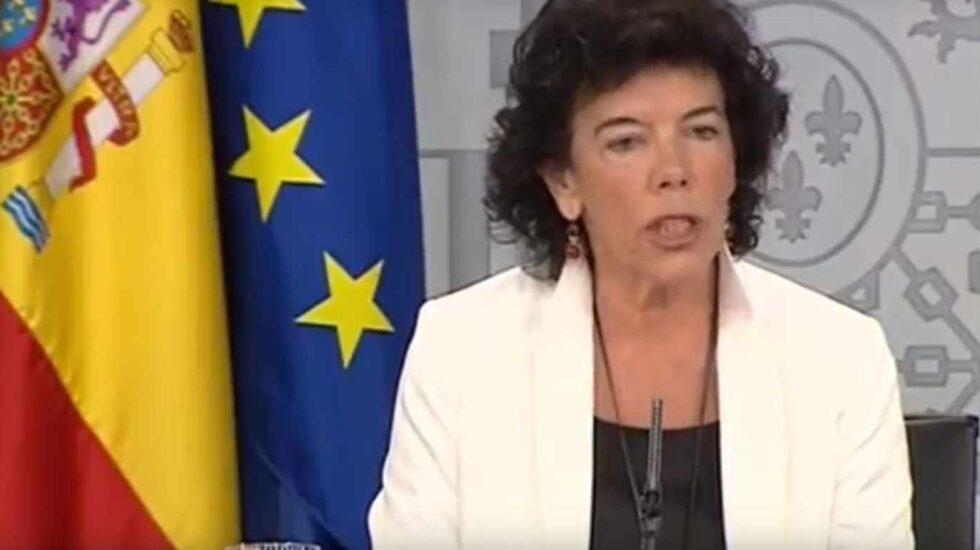 Isabel Celaá.
