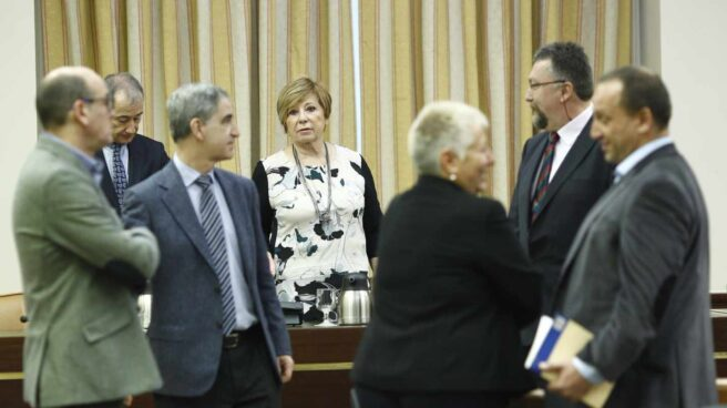 La presidenta del Pacto de Toledo, Celia Villalobos.