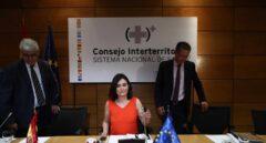 La ministra de Sanidad, Carmen Montón, preside el Consejo Interterritorial de Salud.