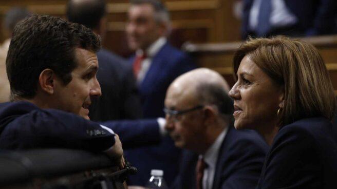 Pablo Casado y María Dolores de Cospedal.