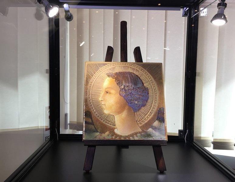 Retrato del Arcángel Gabriel, considerado uno de los más antiguos de Leonardo y que incluso podría ser un autorretrato del genio renacentista.