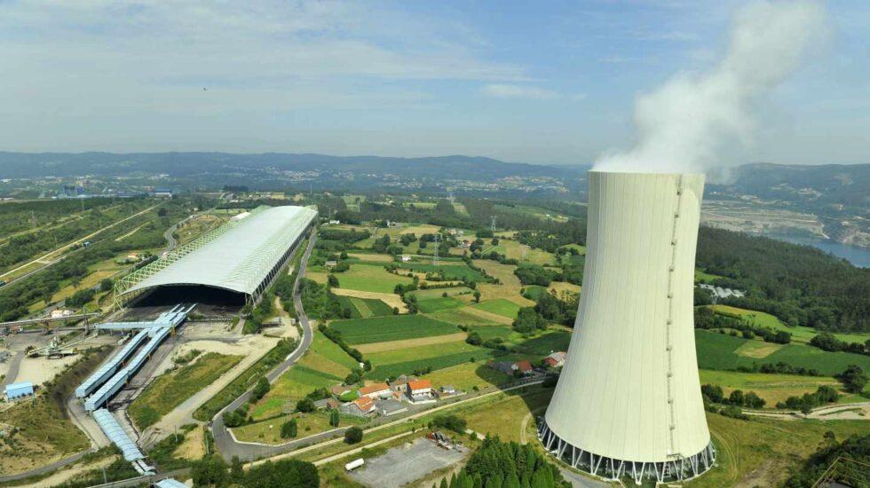 La central de carbón de Meirama, de Naturgy (Gas Natural).