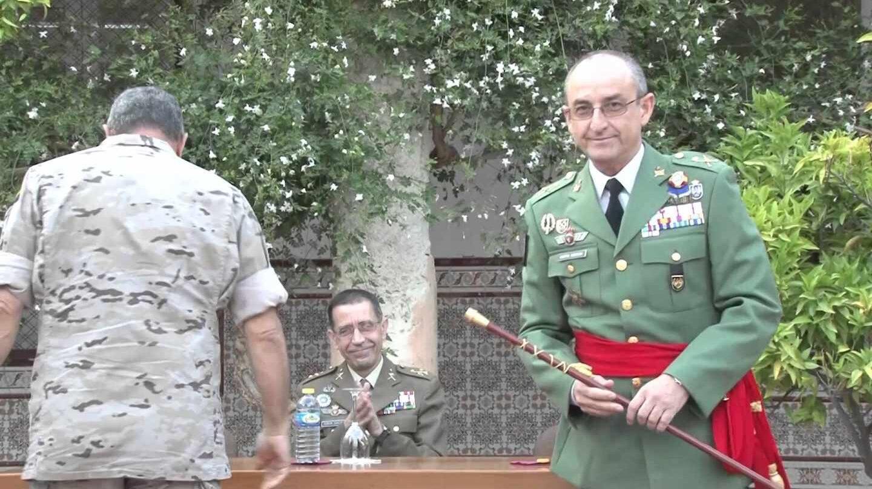 Imposicion de Faja al General Juan Jesús Martin Cabrero.