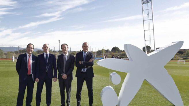 CaixaBank patrocinará a la selección española de fútbol hasta 2024.