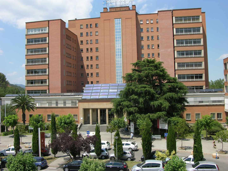 Hospital de Girona donde ha muerto un niño por meningitis.