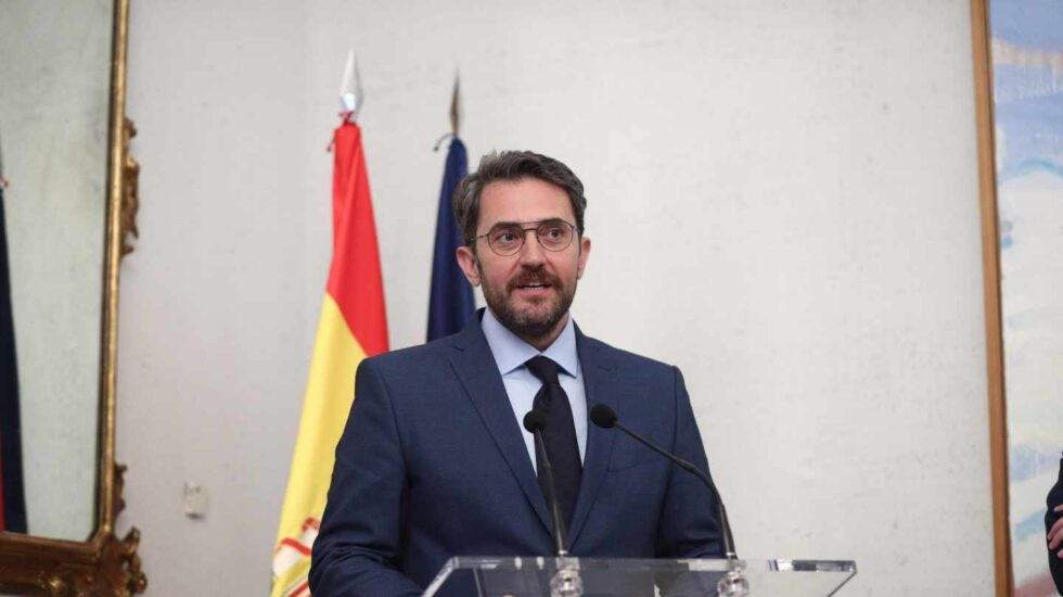 Màxim Huerta, tras tomar posesión el pasado lunes como ministro de Cultura.