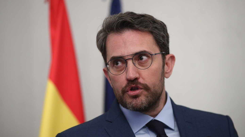 Maxim Huerta, ministro de Cultura y Deportes.