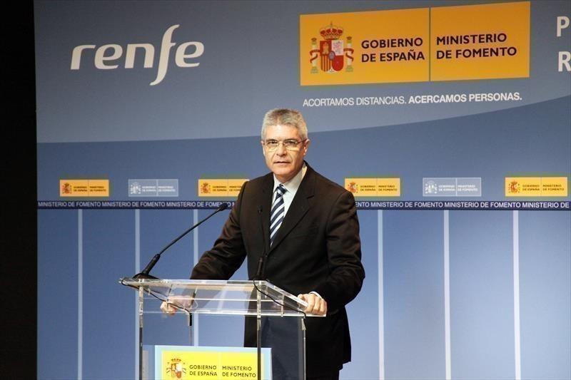 Isaías Taboas en su etapa como secretario general de Transportes.