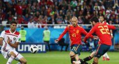 España jugará el domingo contra Rusia tras empatar frente a Marruecos