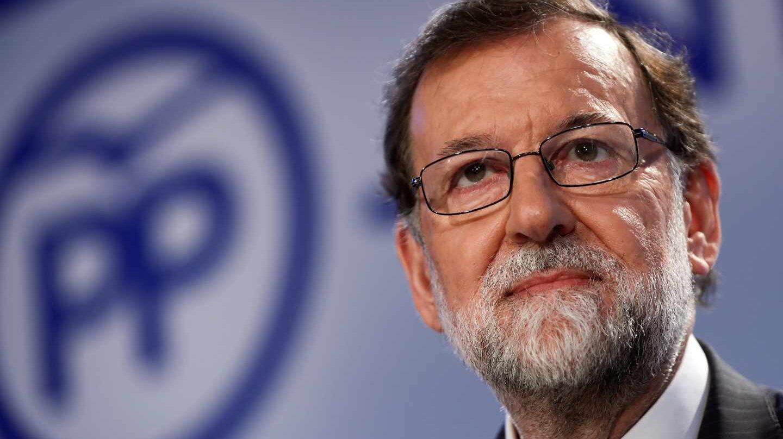 El ex presidente del Gobierno Mariano Rajoy durante la reunión de la Junta Directiva Nacional del PP.