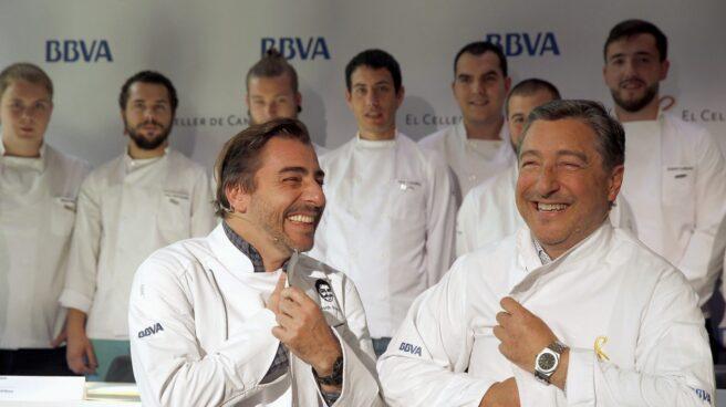 Los hermanos Jordi y Joan Roca en Bilbao el año pasado