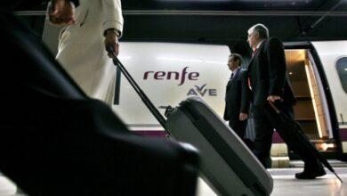 Paros en Renfe el día de la 'operación salida' del puente de diciembre