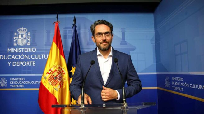 Màxim Huerta, ex ministro de Cultura y Deporte.