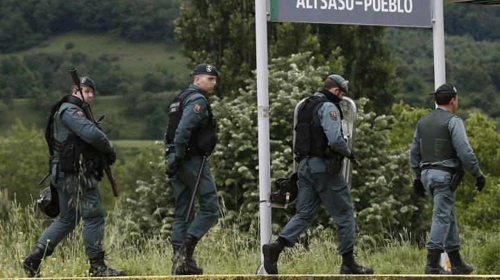 Operación policial en Alsasua.