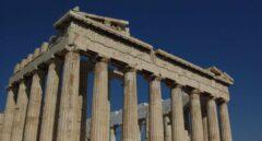 El Partenón, en la Acrópolis de Atenas.