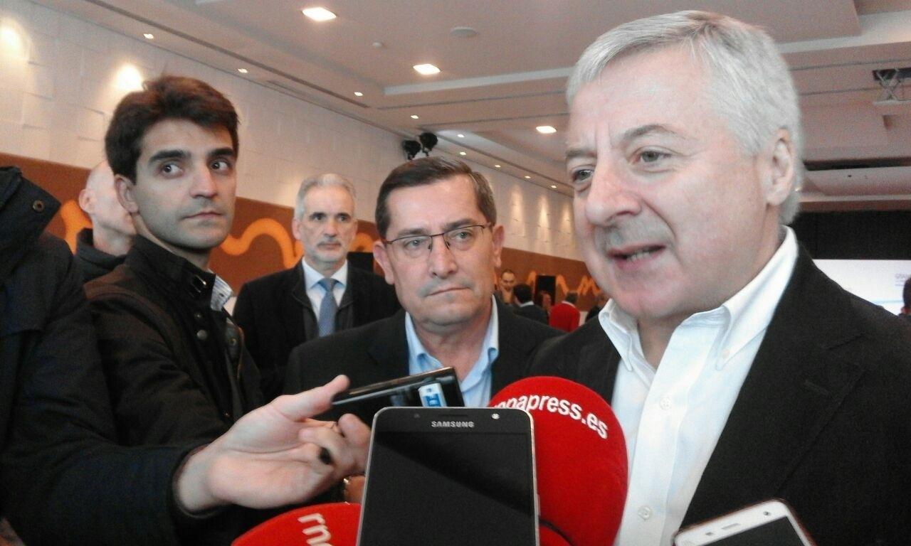 El exministro de Fomento y eurodiputado José Blanco, en marzo pasado.