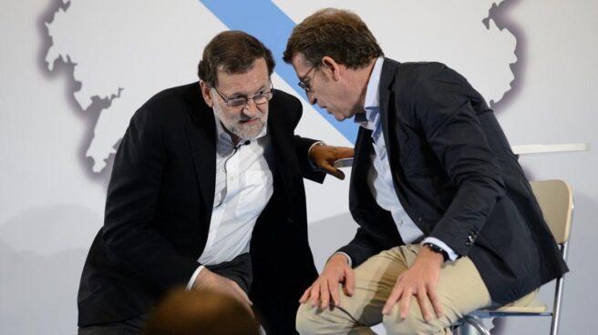 Rajoy y Feijóo en una imagen de archivo