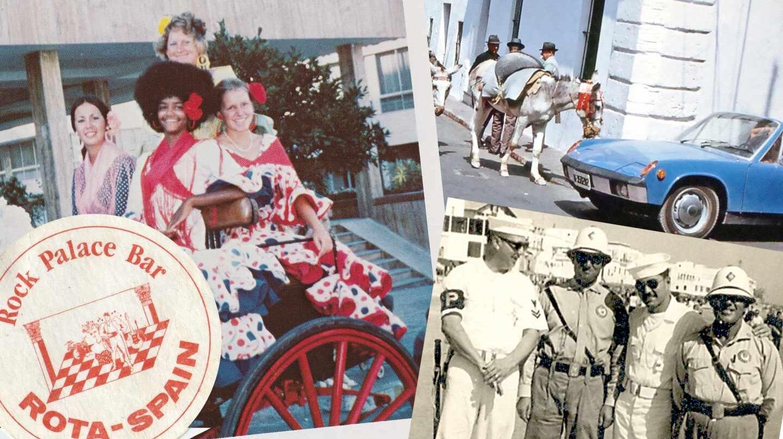 Imágenes Rota en los años 60, 70 y 80.