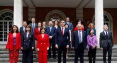 El nuevo Gobierno de Pedro Sánchez, en la Moncloa.