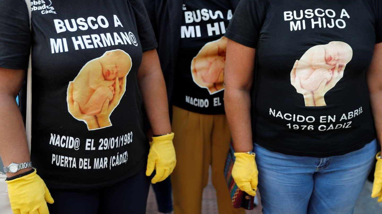 Supuestas víctimas de los bebés robados en la clínica San Ramón.