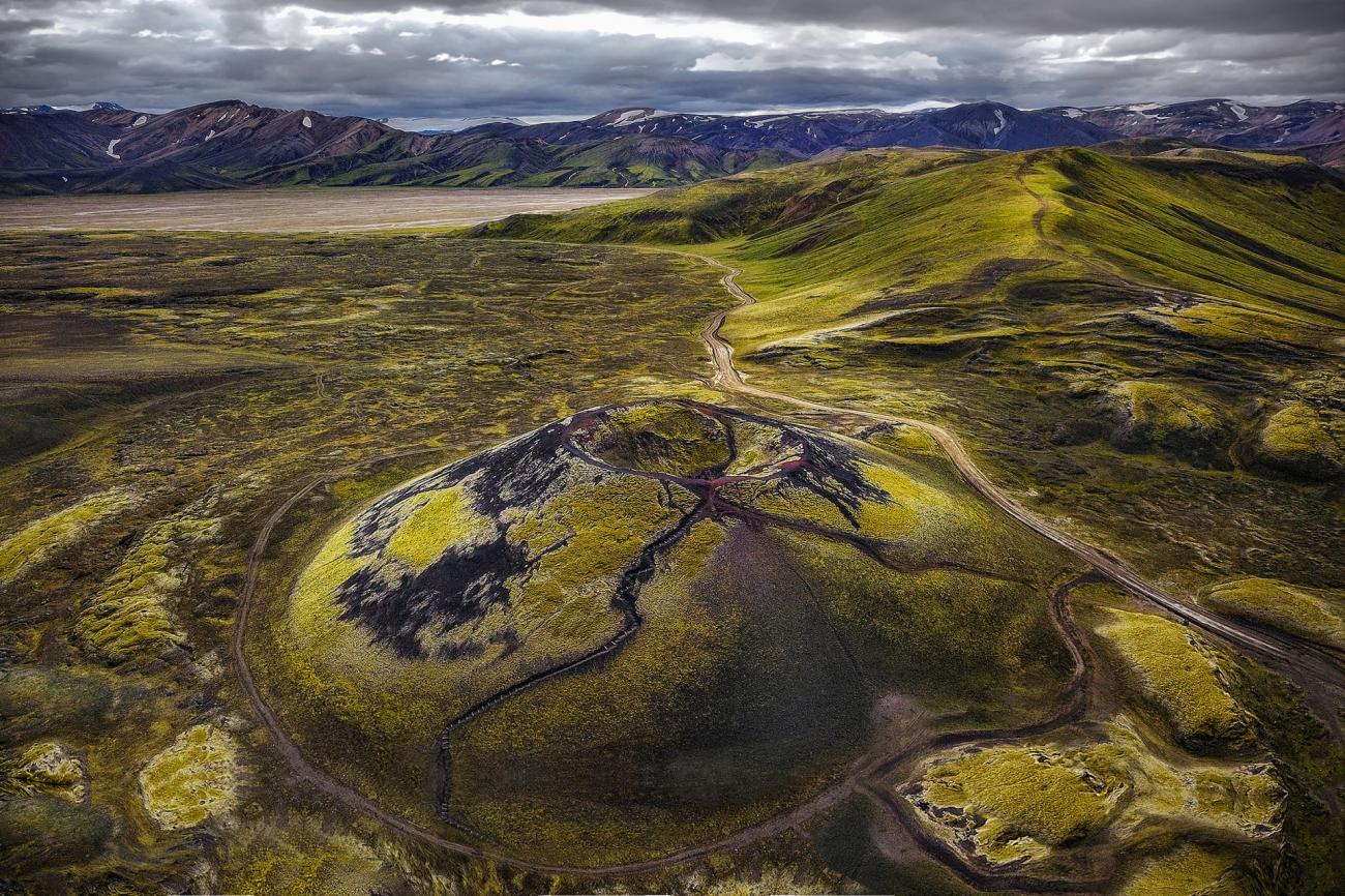 4. 'El cráter' de Kirsten Täuber.
