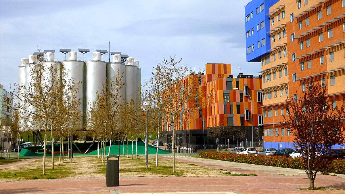 Ecobulevar en Vallecas