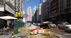 La Gran Vía de Madrid, patas arriba