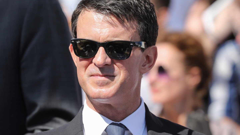 Manuel Valls, en el homenaje a Simone Veil en París.