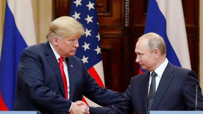 Trump y Putin, en Helsinki.