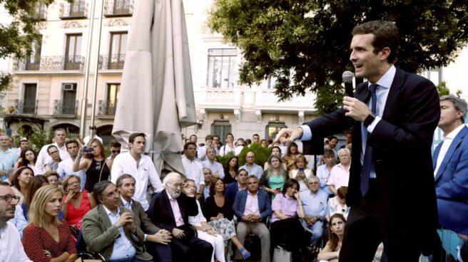 Pablo Casado, en Madrid.