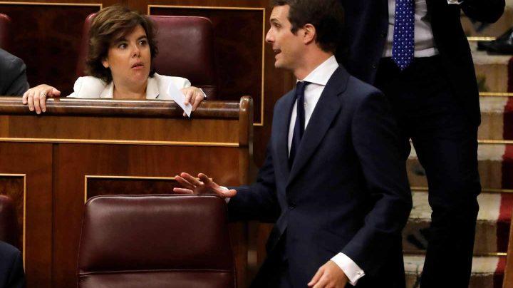 Sáenz de Santamaría y Casado en el Congreso este miércoles
