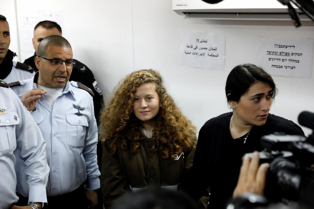 Ahed Tamimi.
