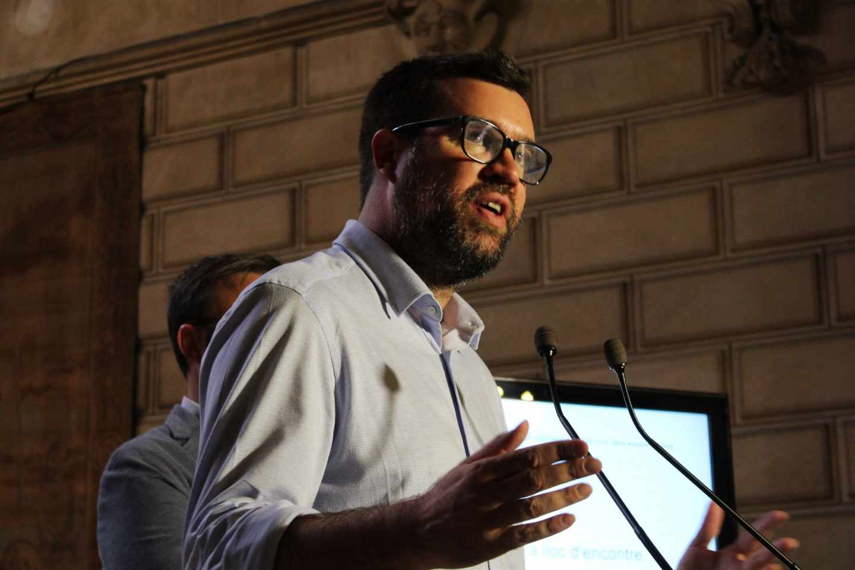 Alcalde de Palma. Antoni Noguera, en rueda de prensa