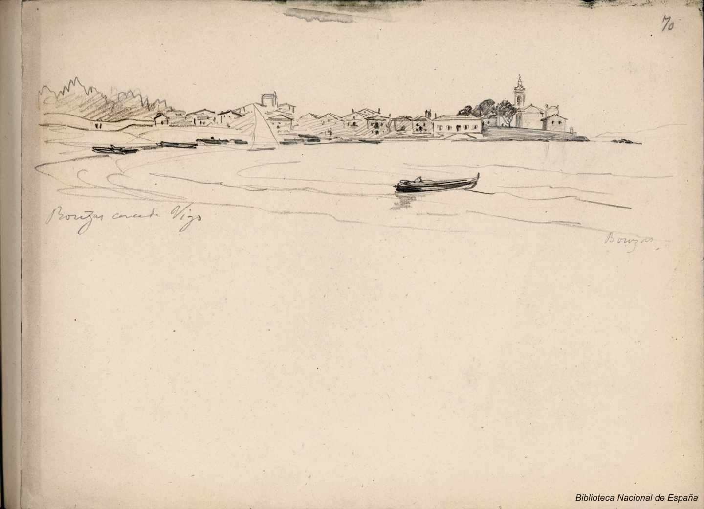 Bouzas. Vigo. 1881. Rafael Monleon y Torres.