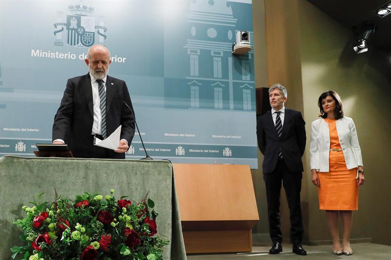 Félix Azón toma posesión del cargo de director general de la Guardia Civil en presencia de Grande-Marlaska y Ana Botella.