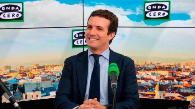 Pablo Casado, en Onda Cero.
