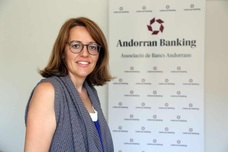 Esther Puigcercos, secretaria y directora general de Andorra Banking.