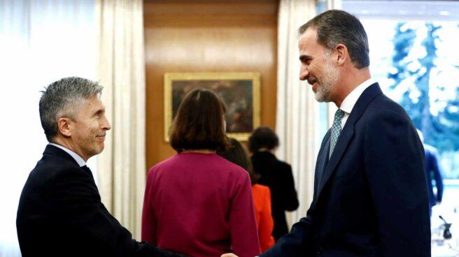 Felipe VI en el primer Consejo de Seguridad Nacional del Gobierno de Pedro Sánchez