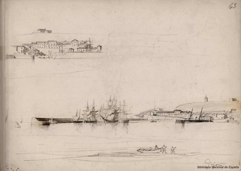 Gijón. 1843-1899. Rafael Monleón y Torres
