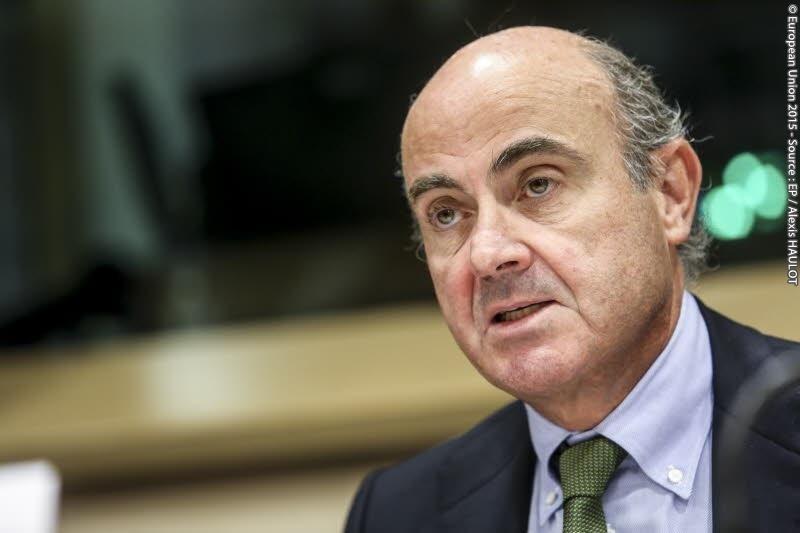Luis de Guindos, el vicepresidente del Banco Central Europeo (BCE).