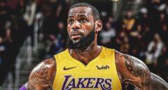 LeBron James revienta la NBA