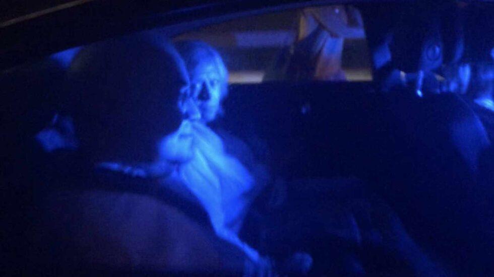 Imagen del vídeo del juez Llarena acosado en Palafrugell (Gerona).