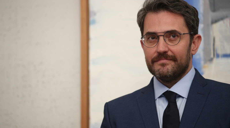 Màxim Huerta, en sus días como ministro de Cultura y Deporte.