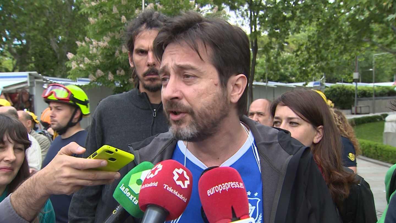 Rafael Mayoral, diputado de Podemos.