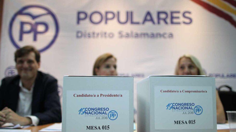 Mesa electoral PP