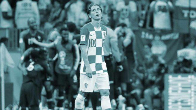 Luka Modric, tras la derrota de Croacia ante Francia en la final del Mundial.